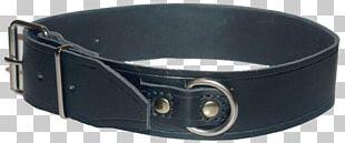 Belt Buckle Leash Strap Collar PNG