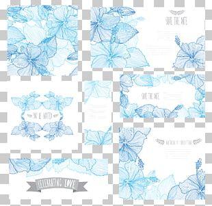 Flower Blue Euclidean PNG