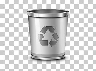 Trash Recycling Bin Waste Container Icon PNG