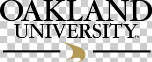 Oakland University Central Michigan University Master's Degree Student PNG