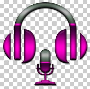 Headphones Microphone Disc Jockey Music PNG