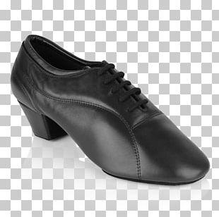 Leather Platform Shoe Oxford Shoe Dance PNG