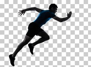 Sprint Running Silhouette Stock Photography PNG