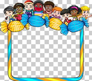 Frame Child Illustration PNG