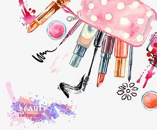 -painted Cosmetics PNG