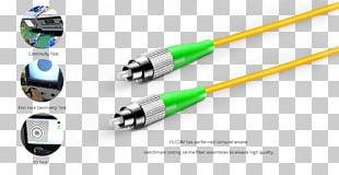 Electrical Cable Single-mode Optical Fiber Optical Fiber Connector Patch Cable PNG