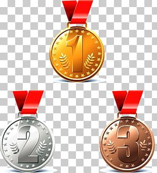 Gold Medal Award PNG