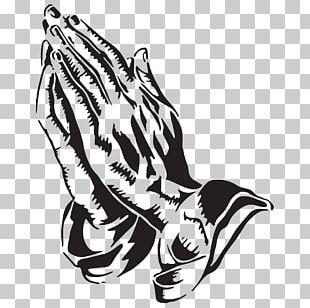 Praying Hands Prayer Religion Drawing PNG