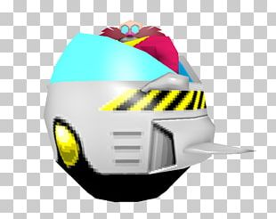 Doctor Eggman Low Poly Pixel Art Sonic The Hedgehog Sprite PNG