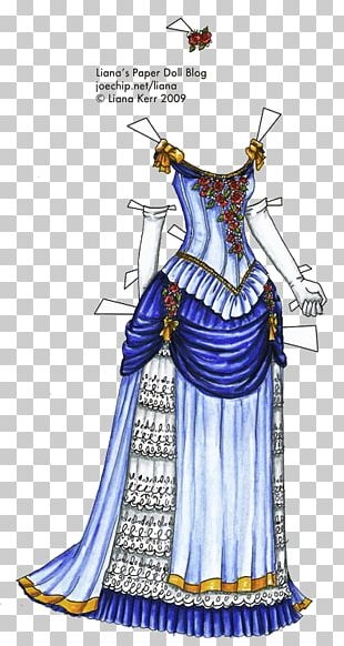 Ball Gown 1880s Dress Evening Gown PNG