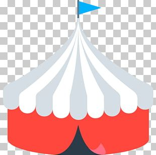 Emoji Circus Tent Carpa Text Messaging PNG