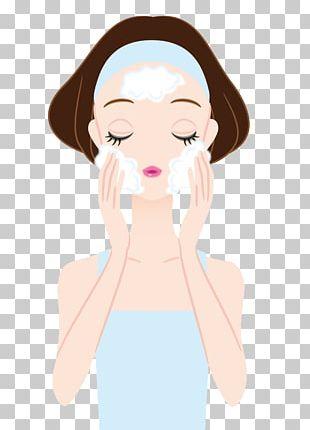 Skin Care Facial Illustration PNG