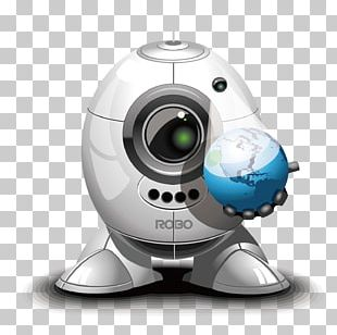 Robot 3D Computer Graphics Icon PNG