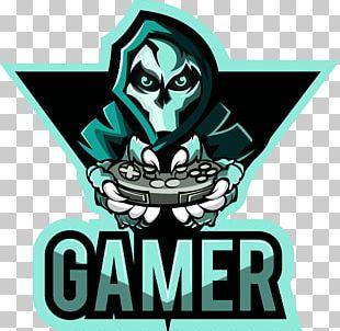 Gamer T-shirt Video Game Logo PNG