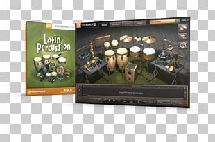 EZdrummer Latin Percussion Drums PNG