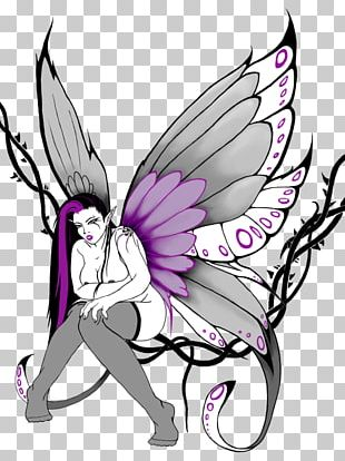 Fairy Tattoo Artist Drawing PNG