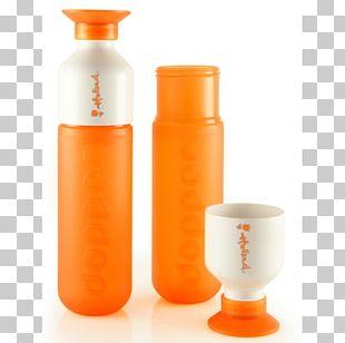 Bottle Dopper Orange Red Blue PNG