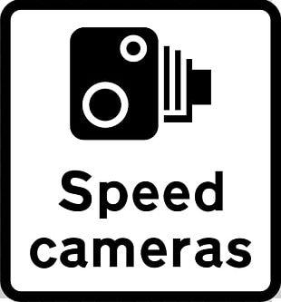 Traffic Enforcement Camera Traffic Sign Speed Limit Warning Sign PNG