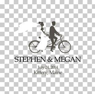 Wedding Invitation Cycling Bicycle PNG