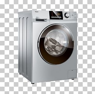 Washing Machine Haier Laundry Detergent Home Appliance PNG