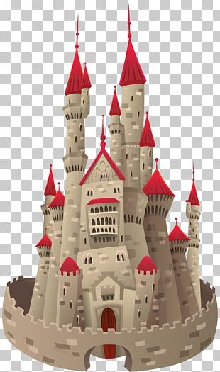 Castle Cartoon Drawing Illustration PNG