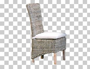 Table Wicker Chair Cushion Garden Furniture PNG