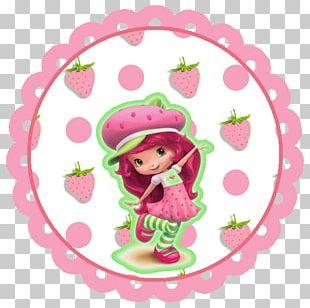 Strawberry Shortcake Party Birthday PNG