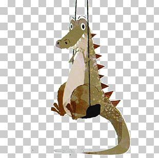 Drawing Cartoon Dinosaur Illustration PNG