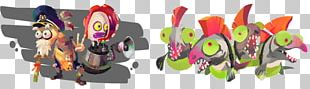 Splatoon 2 Chum Salmon Nintendo Switch PNG