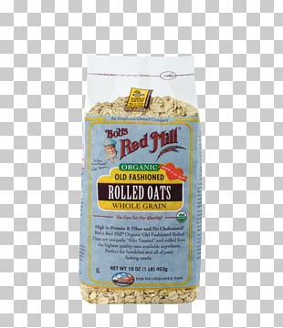 Breakfast Cereal Organic Food Bob's Red Mill Rolled Oats Whole Grain PNG