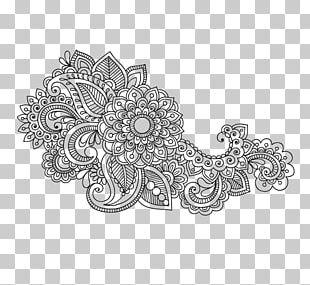 Ornament Paisley Textile Pattern PNG