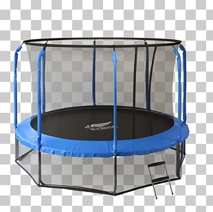 Trampoline Safety Net Enclosure Jumping Exercise Machine Physical Fitness PNG