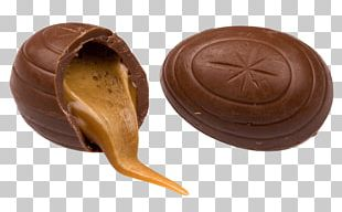 Caramel And Chocolate Easter Egg PNG