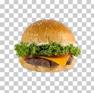 Hamburger Cheeseburger Bacon French Fries Fast Food PNG