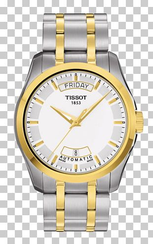 Tissot Watch Swiss Made Retail Strap PNG