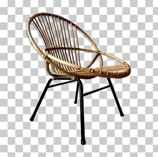 Chair Wicker Rattan Fauteuil Furniture PNG