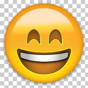 Emoji Happiness Smiley Sticker PNG