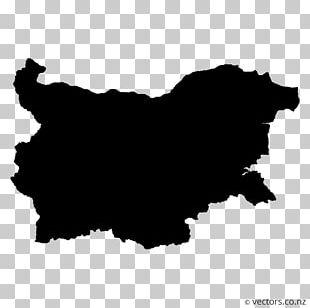 Bulgaria Map Stock Photography PNG