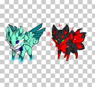 Devil Angel Demon Dog Fox PNG