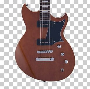 Electric Guitar Bass Guitar Reverend Musical Instruments Flame Maple PNG