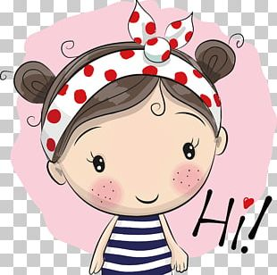 Girl Cartoon Illustration PNG
