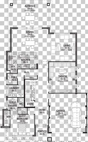 Floor Plan Bedroom Storey House Plan PNG