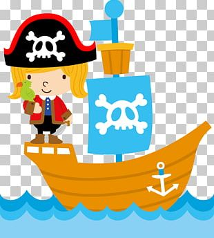 Piracy Child Pirate Party PNG