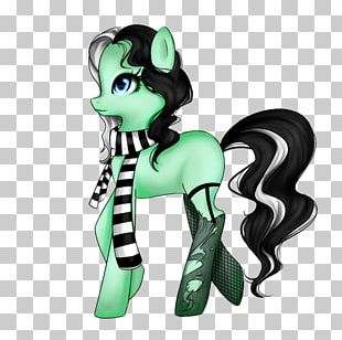 Horse Green Legendary Creature Animated Cartoon Yonni Meyer PNG