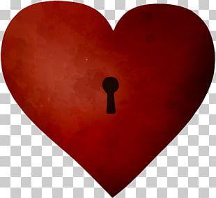 Heart Key Euclidean PNG