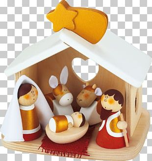 Nativity Scene Asilo Nido Ox Nativity Of Jesus Child PNG