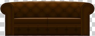Table Loveseat Chair Brown PNG