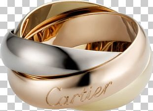 Cartier Wedding Ring Jewellery Colored Gold PNG