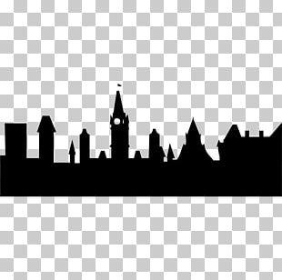 Community Organizing Silhouette City Organization Sticker PNG