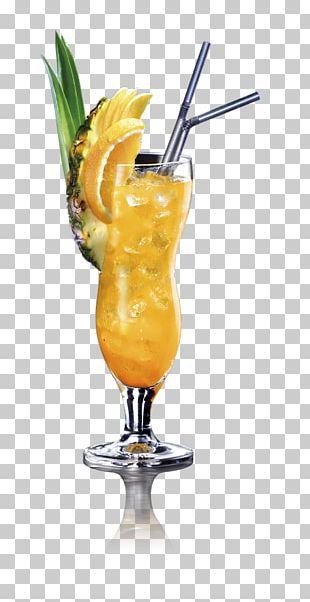 Non-alcoholic Mixed Drink Mai Tai Cocktail Garnish Piña Colada Sea Breeze PNG